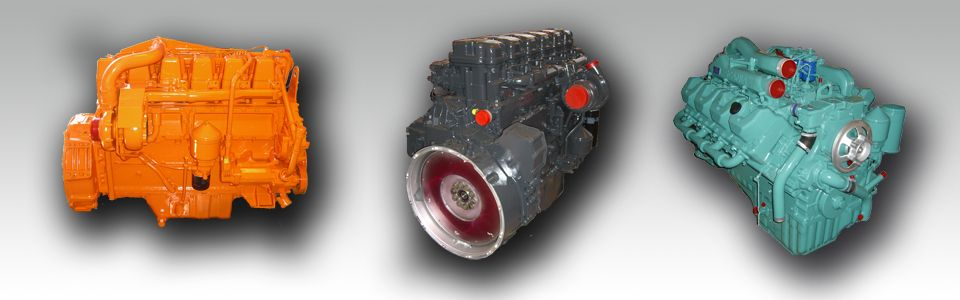 ENGINE - reconditioned on exchange  for Trucks & Buses